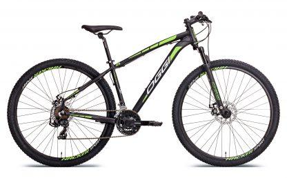 Bicicleta MTB Oggi Hacker Sport preta/verde