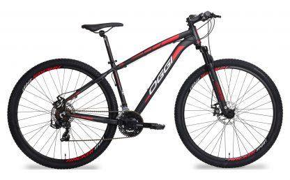 Bicicleta MTB Oggi Hacker Sport preta/vermelha