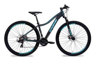 Bicicleta MTB Oggi Float Sport preta/tiffany