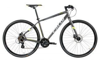 Bicicleta Urbana Híbrida Caloi City Tour Sport 2018 cinza