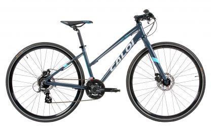 Bicicleta Urbana Híbrida Feminina Caloi City Tour Sport 2018 cinza
