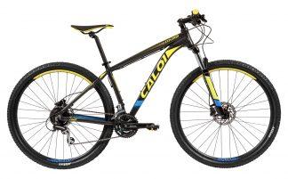 Bicicleta MTB Caloi Explorer Comp 2019 cinza/amarela