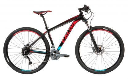 Bicicleta Caloi Explorer Expert 2019 cinza/vermelha
