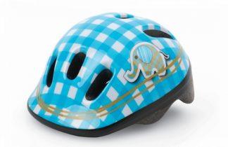 Capacete Infantil Polisport XXS Baby Elepahant azul/branca