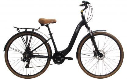 Bicicleta Urbana Groove Urban 2019 preta com bagageiro Ostand