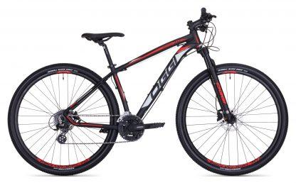 Bicicleta MTB Oggi 7.0 2018 preta/vermelha/branca