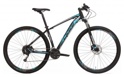 Bicicleta MTB Oggi Big Wheel 7.0 2019 preta/azul/branca