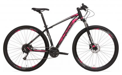 Bicicleta MTB Oggi Big Wheel 7.0 2019 preta/rosa/branca
