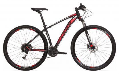 Bicicleta MTB Oggi Big Wheel 7.0 2019 preta/vermelha/branca