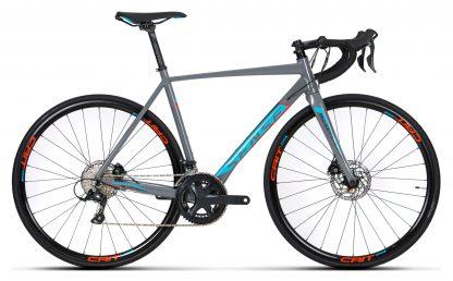 Bicicleta Speed Sense Criterium Road Race 2019 cinza/azul