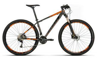 Bicicleta MTB Sense Rock Evo 2019 preta/laranja