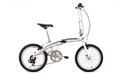 Bicicleta Urbana Dobrável Tito To Go branca
