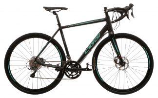 Bicicleta Speed Oggi Velloce Disc 2019 preta/azul tiffany