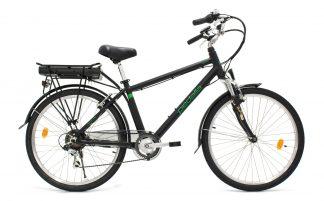 Bicicleta Urbana Elétrica Pedalla Gioia Masculina preta