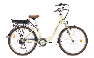Bicicleta Urbana Elétrica Pedalla Gioia Unissex creme