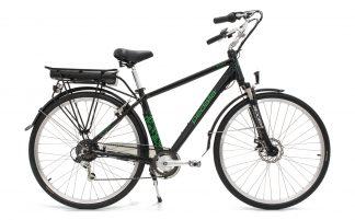 Bicicleta Urbana Elétrica Pedalla Rodda Masculina preta