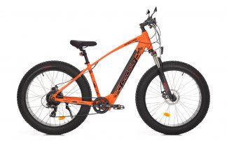 Bicicleta Elétrica Pedalla Spectro Fat Bike laranja