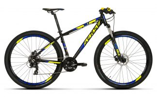 Bicicleta MTB Sense One 2019 azul amarela