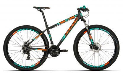 Bicicleta MTB Sense One 2019 laranja acqua