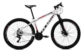 Bicicleta MTB GTSM1 Stilom 2.0 branca/vermelha /azul/preta