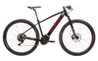 Bicicleta MTB Elétrica Pagotti E291XC 2019 preta vermelha