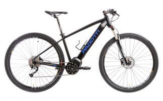 Bicicleta MTB Elétrica Pagotti E292XC 2019 preta azul